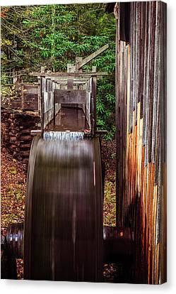 Smoky Mountain Mill Canvas Print by Andrew Soundarajan