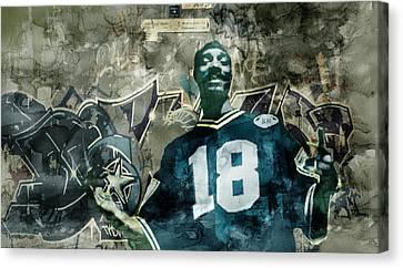 Snoopp Graffiti Canvas Print by Jani Heinonen