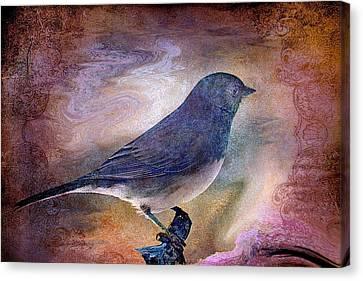 Snowbird Stories... Canvas Print by Arthur Miller