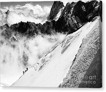 Snowdown Canvas Print by Jack Torcello
