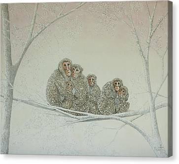 Snowed Under Canvas Print by Pat Scott