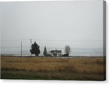 Northwest Landscape Canvas Print by Kazumi Whitemoon