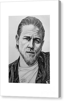 Soa - Jax Teller Canvas Print by Steven Page