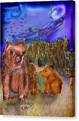 Soar Canvas Print by Cynthia Richards