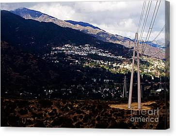 Socal Fire Road Canvas Print by Clayton Bruster