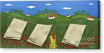 Soft Breeze Canvas Print by Anne Klar