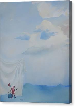 Soft Light Canvas Print by Richard    J Thorpe