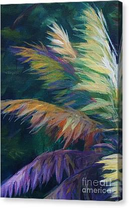 Soft Palm Canvas Print by John Clark