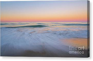 Soft Sunset  Canvas Print by Michael Ver Sprill