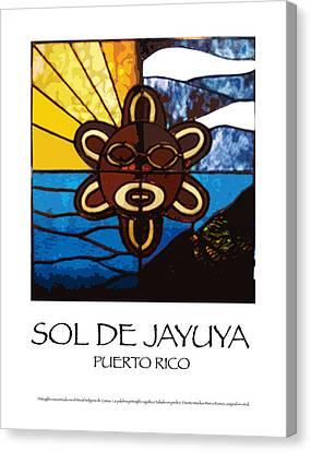 Sol De Jayuya Canvas Print by Marilou Rivera-Ramos