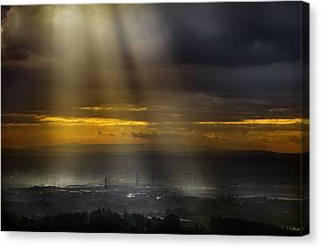 Solar Energy Canvas Print by Antonio Grambone