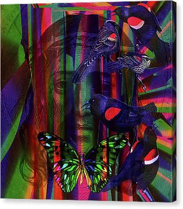 Solar Flight Wave Tribute Canvas Print by Joseph Mosley