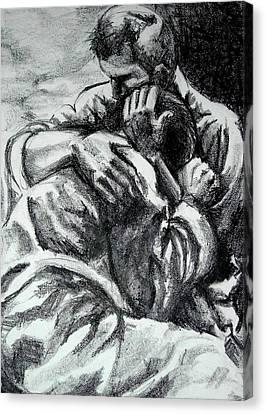 Soldier  Canvas Print by Dannielle  Murphy