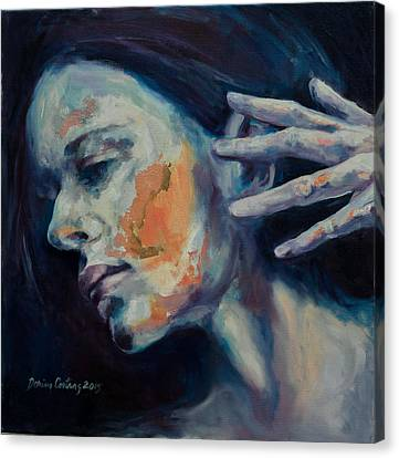 Solitary Silent Canvas Print by Dorina  Costras