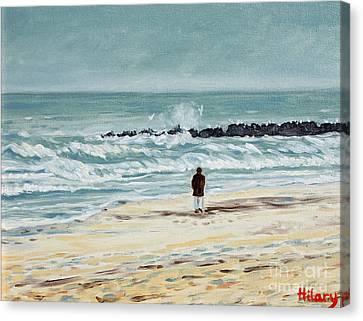 Solitude Canvas Print by Hilary England