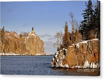 Solitude Rock Canvas Print by Whispering Feather Gallery