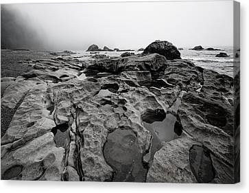Sombrio Rocks Canvas Print by Heather K Jones