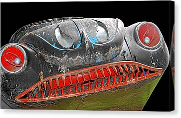 Some Cars Are Born Bad Canvas Print by Christine Till