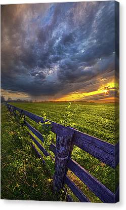 Sometime Between Then And Now Canvas Print by Phil Koch