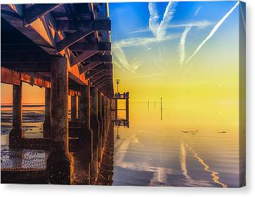 Canvas Print featuring the photograph Somewhere Else by Thierry Bouriat