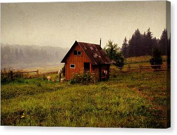 Somewhere In The Countryside. Russia Canvas Print by Jenny Rainbow