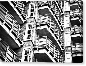 Somewhere Up There Canvas Print by Tom Gowanlock