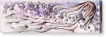 Song Of The Wind Canvas Print by Rachel Christine Nowicki