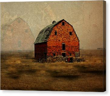 Soon To Be Forgotten Canvas Print by Julie Hamilton