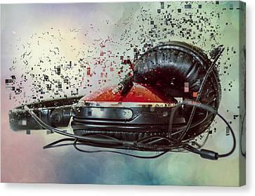 Sound Blast Canvas Print by Martina Fagan