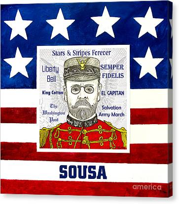 Sousa Canvas Print by Paul Helm