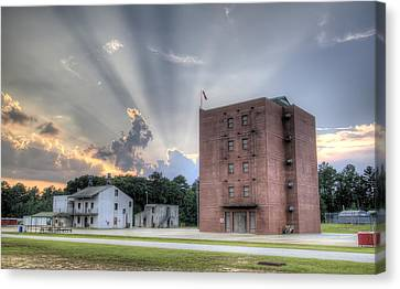 South Carolina Fire Academy Tower Canvas Print by Dustin K Ryan