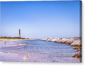 South Jetty Canvas Print by Anthony Tucci