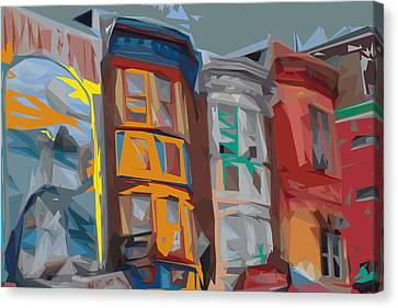 South Street Revisited Canvas Print by Kevin  Sherf