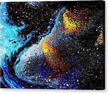Space Boot Canvas Print by Samuel Sheats
