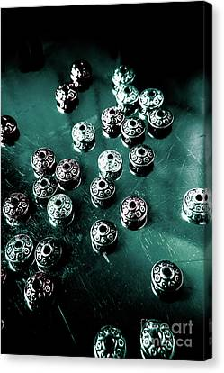 Space Craft Connectors Canvas Print by Jorgo Photography - Wall Art Gallery