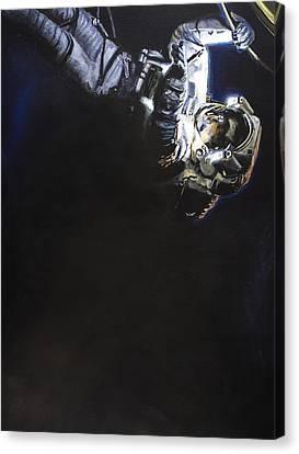 Spacewalk 1  Canvas Print by Simon Kregar
