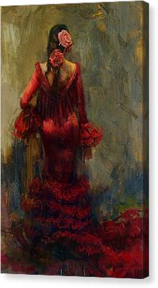Spanish Culture 22 Canvas Print by Corporate Art Task Force