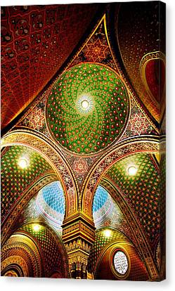 Spanish Synagogue Canvas Print by John Galbo