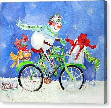Special Delivery Canvas Print by Suzy Pal Powell