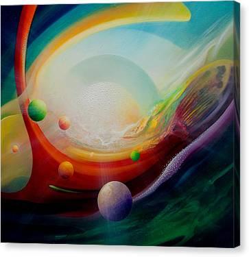 Sphere Q2 Canvas Print by Drazen Pavlovic