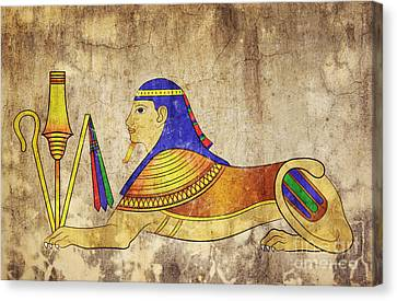 Sphinx Canvas Print by Michal Boubin