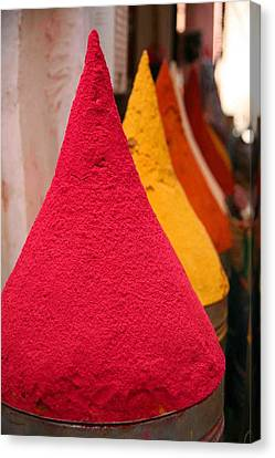Spice Souk Canvas Print by Pauline Cutler