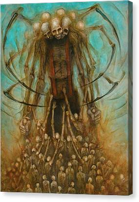 Spider Alien Canvas Print by Robert Anderson