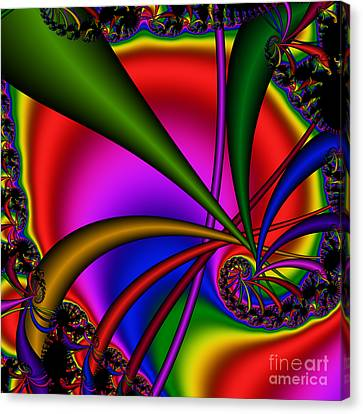 Spiral 123 Canvas Print by Rolf Bertram