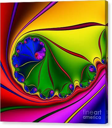 Spiral 146 Canvas Print by Rolf Bertram