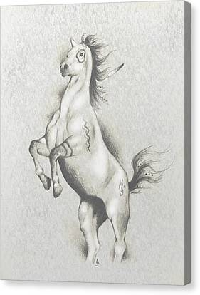 Spirit Horse Canvas Print by Robert Martinez