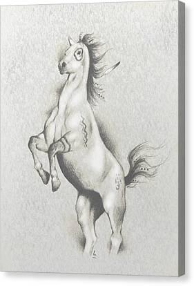 Spirit Horse Canvas Print by Robert Martinez