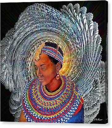 Spirit Of Africa Canvas Print by Michael Durst