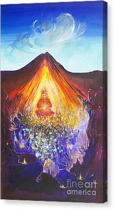 Spirit Of Earth Canvas Print by Barbara Klimova