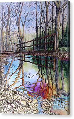 Spirit Of The Woods Canvas Print by David Neace